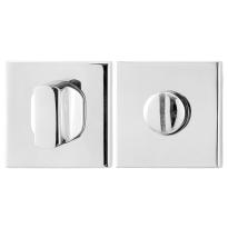 Toilettengarnituren GPF0911.42 50x50x8mm Toilettenstift 5mm Edelstahl poliert Großer Knopf