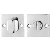 Toilettengarnituren GPF0911.48 50x50x2mm Toilettenstift 5mm Edelstahl poliert Großer Knopf