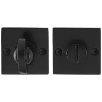 Toilettengarnituren GPF6910.08 52x52x4mm Toilettenstift 8mm Schmiedeeisen schwarz