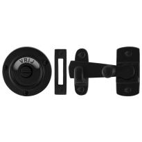 Toilettengarnituren GPF6915.60 Toilettenstift 8mm Schmiedeeisen schwarz