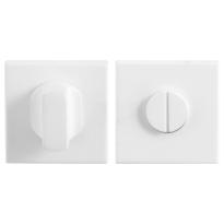 Toilettengarnituren GPF8910.42 50x50x8mm Toilettenstift 8mm weiß Großer Knopf