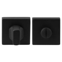 Toilettengarnituren GPF8911.02 50x50x8mm Toilettenstift 5mm schwarz Großer Knopf