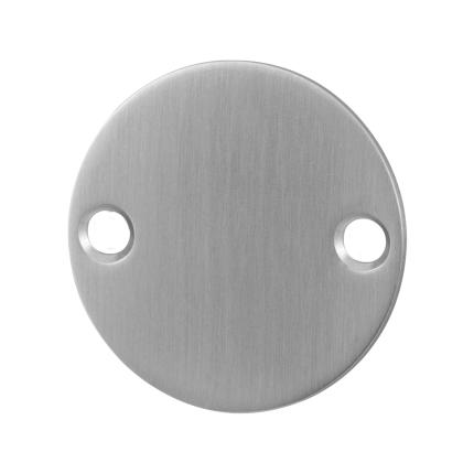 Blindrosette GPF0900.06 50x2mm Edelstahl gebürstet