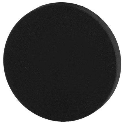 Blindrosette GPF8900VZ 53x6mm schwarz