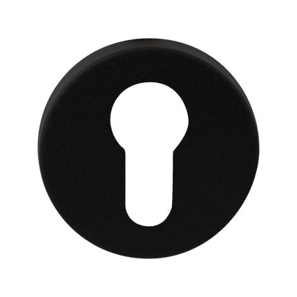 Zylinderrosette GPF8902.00 50x8mm schwarz