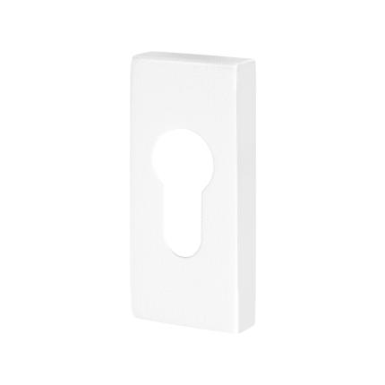 Zylinderrosette GPF8902.41 70x32x10mm weiß