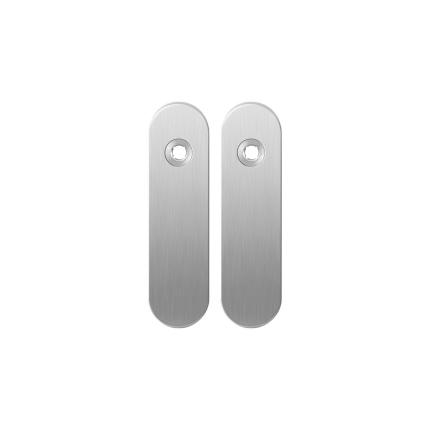 Kurze Schild GPF1100.10 blind edelstahl gebürstet
