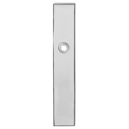 Langes Schild GPF1100.65 blind edelstahl poliert