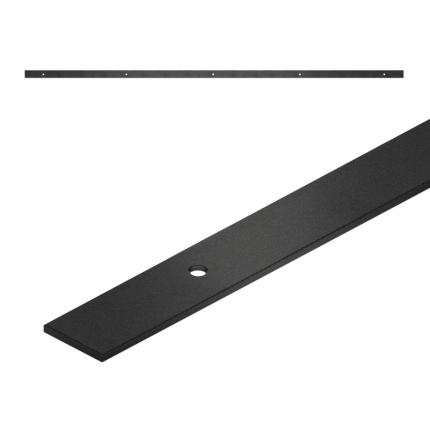GPF0570.61 Schiebetürschienen schwarz