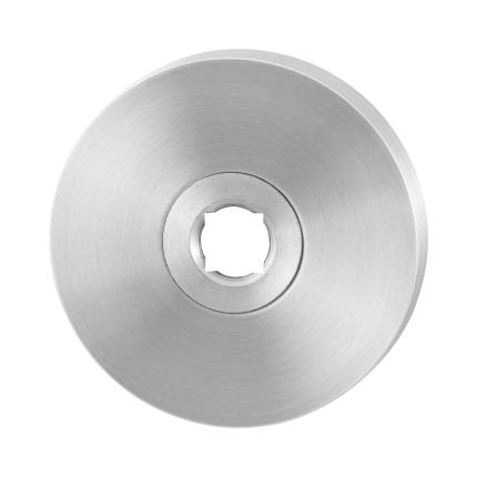 Rosette GPF1100.00 50x8mm Edelstahl gebürstet