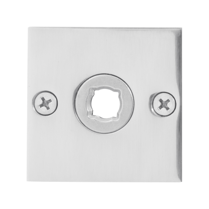 Rosette GPF1100.48 50x50x2mm Edelstahl poliert