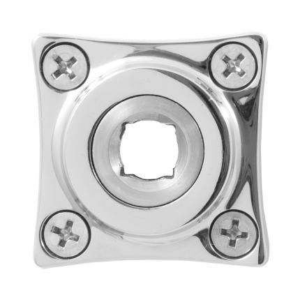 Rosette GPF1100.49 38x38mm Edelstahl poliert