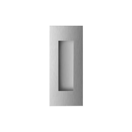 Schiebetürmuschel Edelstahl gebürstet GPF0715.09B
