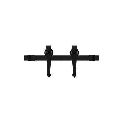 GPF0604.61 Schiebetürsystem Nuoli mini schwarz