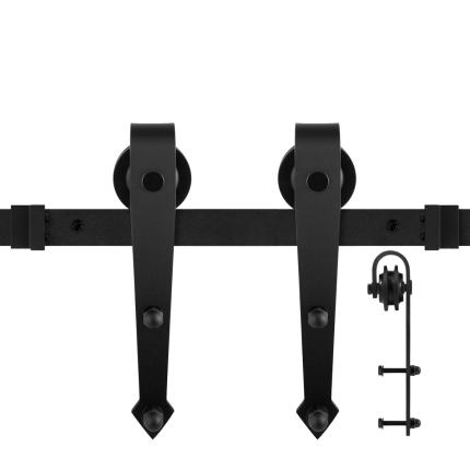 GPF0504.61 Schiebetürsystem Nuoli schwarz