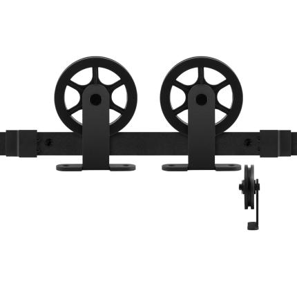 GPF0503.61 Schiebetürsystem Suuri schwarz 150 cm