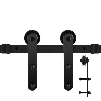 GPF0507.61 Schiebetürsystem Varsi schwarz 170 cm