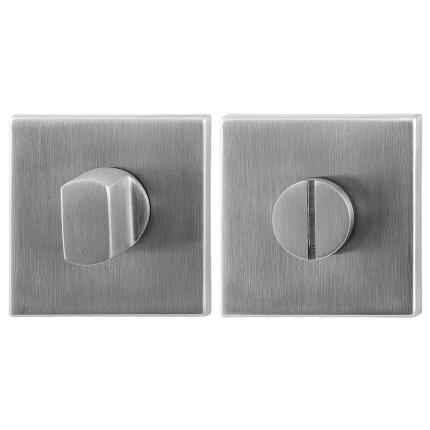 Toilettengarnituren GPF0904.02 50x50x8mm Toilettenstift 5mm Edelstahl gebürstet