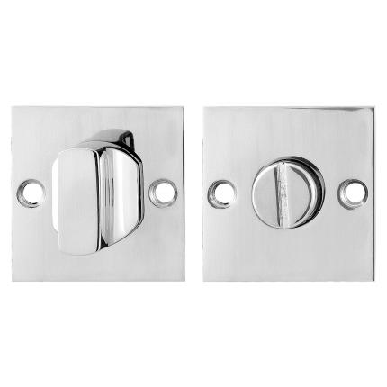 Toilettengarnituren GPF0910.48 50x50x2mm Toilettenstift 8mm Edelstahl poliert Großer Knopf
