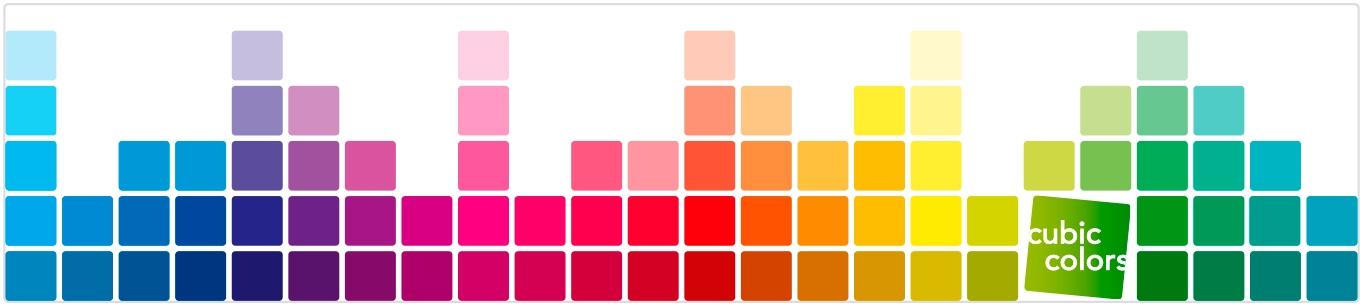 Banner Cubic Colors