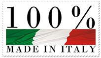 Mandelli wordt voor 100% gemaakt in Italië
